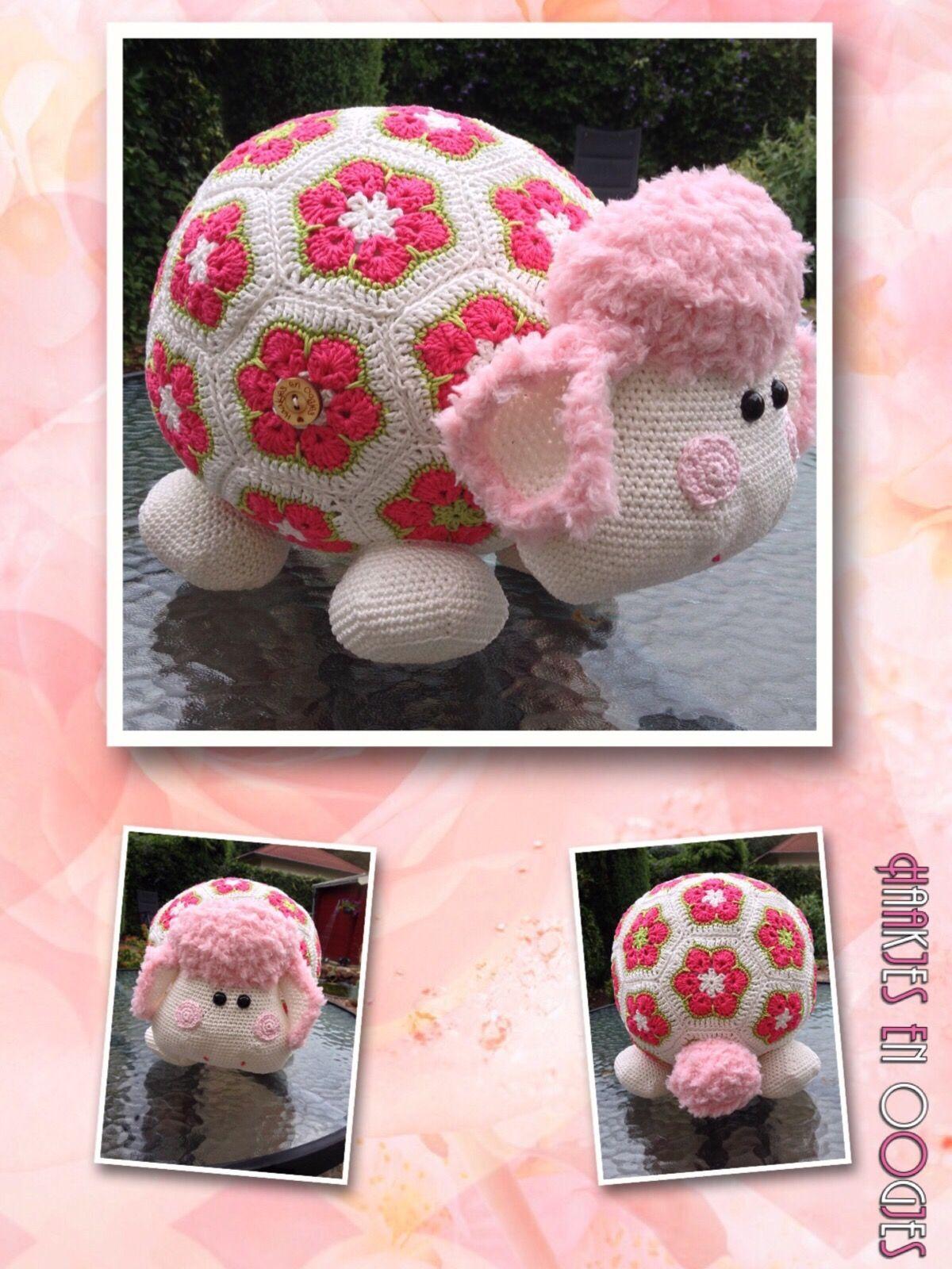 Miss Wooly haken patroon woolytoons crochet