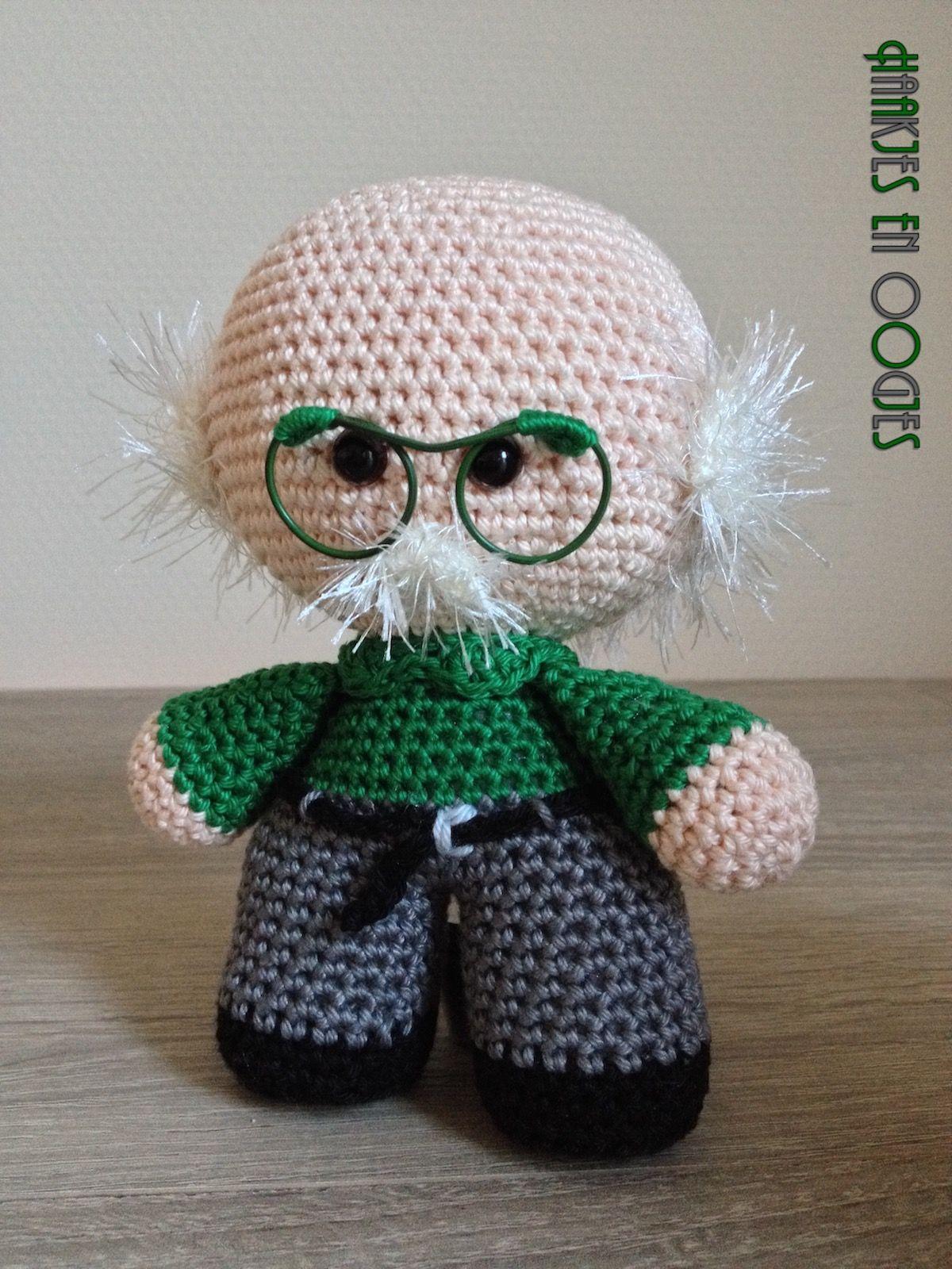 big head doll opa Klaas haken